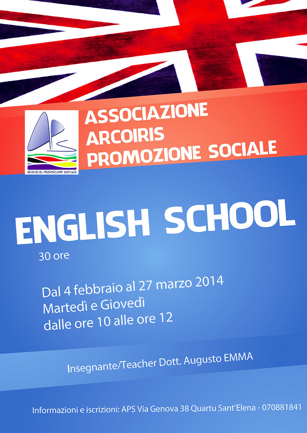 locandina English school 2014
